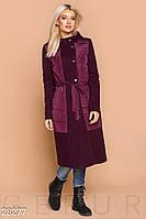 Удлиненное демисезонное пальто Gepur 28277