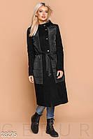 Пальто с капюшоном Gepur 28275