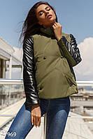 Расклешенная демисезонная куртка Gepur 27969