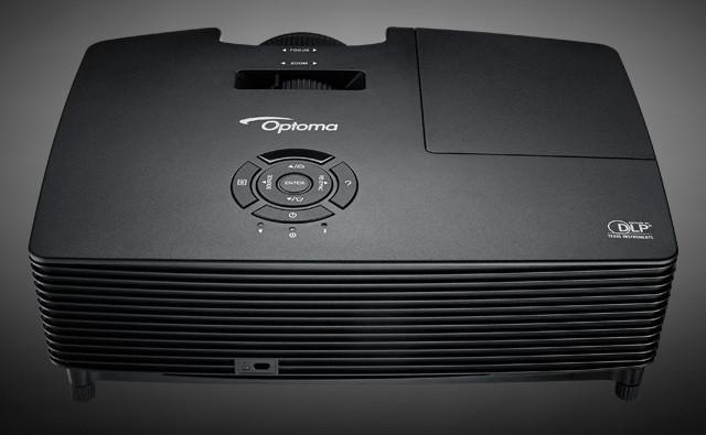 Optoma W316 DLP Video Projector HDReady широкоформатный 3D проектор домашнего кинотеатра