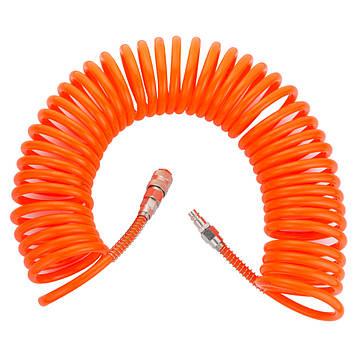 Шланг спиральный полиэтиленовый (PЕ) 10м 6.5×10мм Grad (7011375)