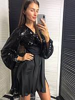 Эксклюзивное платье с пайеткой