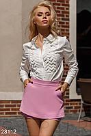 Оригинальные шорты-юбка Gepur 28112