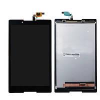 Оригинальный дисплей Lenovo Tab 2 A8-50F черный (LCD экран, тачскрин, стекло в сборе), Оригінальний дисплей Lenovo Tab 2 A8-50F чорний (LCD екран,