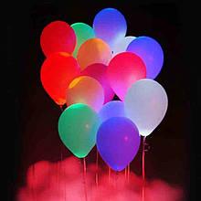 .Светящиеся шары разноцветные в уп.5 шт.