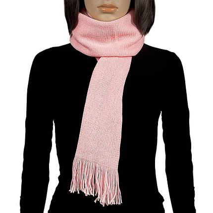 Шарф женский розовый Atrics S-199, фото 2