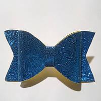 Бант из фоамирана, синий