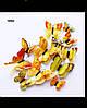Глянцевые 3D бабочки Желтые (05345454)