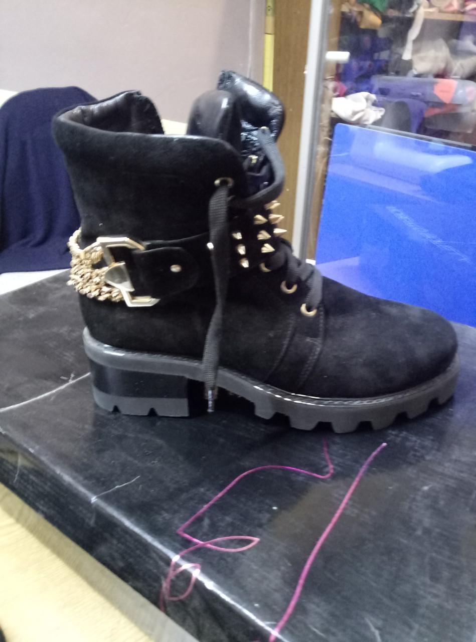 Ботинки шипы (зима)