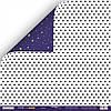 Бумага для скрапбукинга Ticket to the Moon, Звёзды, 30х30 см