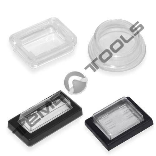 Защитные накладки для клавишных переключателей КП-2, 45, 47, 51