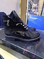 Ботинки кожаные (зима)