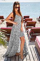 Двухцветный летний сарафан Gepur 26815