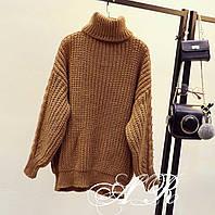 Женский стильный объемный свитер (расцветки), фото 1