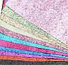 Экокожа с крупным глиттером, фото 3