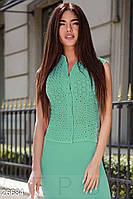Прозрачная летняя блуза Gepur 26684