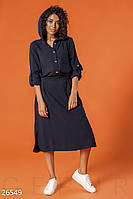 Платье с капюшоном Gepur 26549