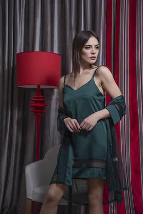 Шикарный  комплект прозрачный  халатик и пеньюар TM Orli, фото 2