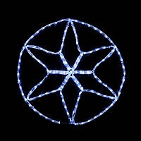 Гирлянда внешняя DELUX MOTIF Star 0,6*0,6м 13 flash белый IP 44 EN