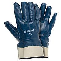 Перчатки трикотажные с полным нитриловым покрытием Sigma (9223011), фото 1
