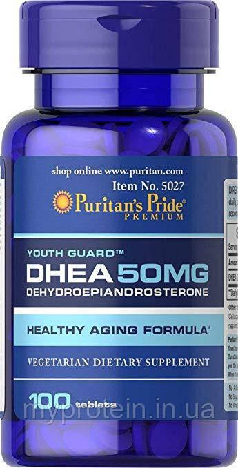 Puritan's PrideдегидроэпиандростеронDHEA 50 mg100 tabs