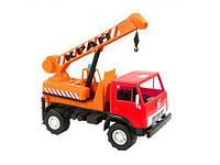 "Машинка ""КАМАЗ"" Кран (оранжевый) 860"