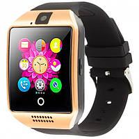 Смарт часы UWatch Q18 сенсорный экран, SIM (GOLD)