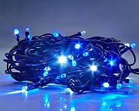 Новогодняя светодиодная гирлянда 300 B-4 синяя 300Led, фото 1