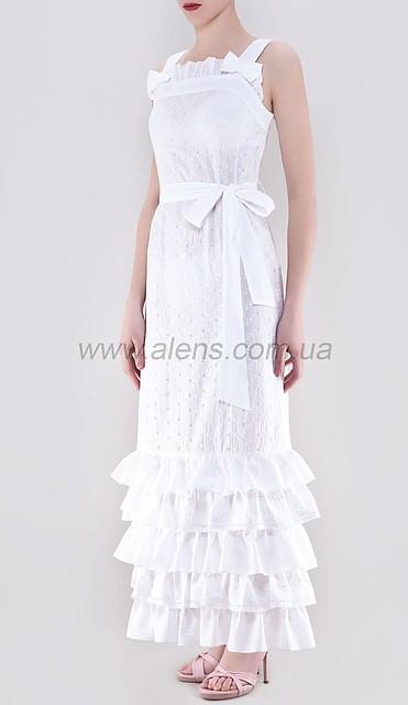 f6465ea5d5e Летний белый длинный сарафан купить  продажа