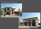 3-d визуализация фасада дома или коттеджа, фото 7