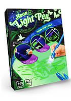 Рисуй светом Neon light pen формат А4 Машинки (NLP-01-02)