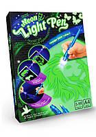Рисуй светом Neon light pen формат А4 Лев (NLP-01-01)