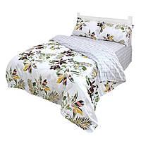 Комплект постельного белья Полуторный Moorvin Сатин 150х215 см (SAP_115_0337_K)