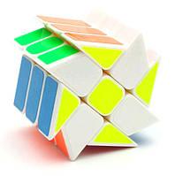 Усложнённый кубик Рубика 3x2x2 БЕЛЫЙ SKU0000226, фото 1