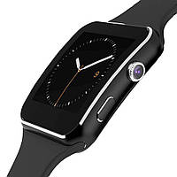 Смарт часы UWatch X6 камера, SIM (BLACK), фото 1