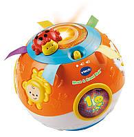 Vtech Развивающий мячик со звуком и световыми эффектами vtech move and crawl baby ball