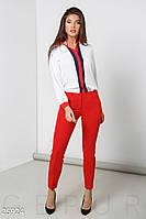Классические зауженные брюки Gepur 25924