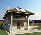 Проект котеджу, будинку для будівельного паспорту, фото 5