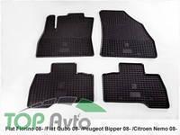 Stingray Резиновые коврики Citroen Nemo 08- Fiat Fiorino 08- Fiat Qubo 08- Peugeot Bipper 08-