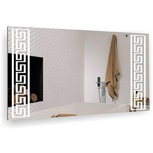 Дзеркало у ванну кімнату Римський узор БЦ-Стол 1000х500
