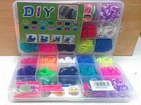 Набор для плетения резиночками DIY Loom Bands (600 шт)