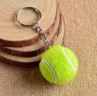 Брелок у вигляді тенісного м'ячика - колір ЗЕЛЕНИЙ SKU0001002, фото 1