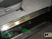 Nataniko Накладки на пороги Mitsubishi Pajero Sport 1996-2008