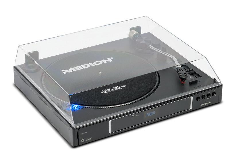 Грамофон MEDION MP3 USB SD