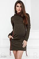 Теплое спортивное платье Gepur 24480