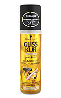 "Экспресс-кондиционер Gliss Kur ""Oil Nutritive"" , 200мл"