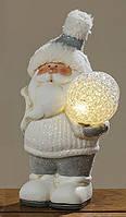 Led ночник Санта керамика h18см 1007459