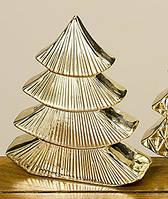 Декор ёлка золотая керамика h20см Гранд Презент 1007286