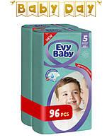 Подгузники детские Evy Baby Junior Jumbo 5 (11-25) Mega Pack 96 шт