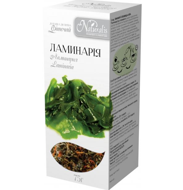 Фиточай «Ламинария» 75г -природный источник йода